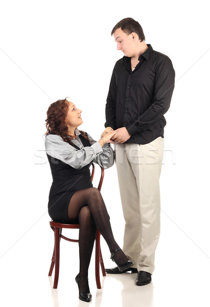 Stock photo: Lovely couple