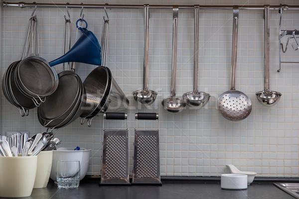 кухне стены дома домой металл Сток-фото © DedMorozz