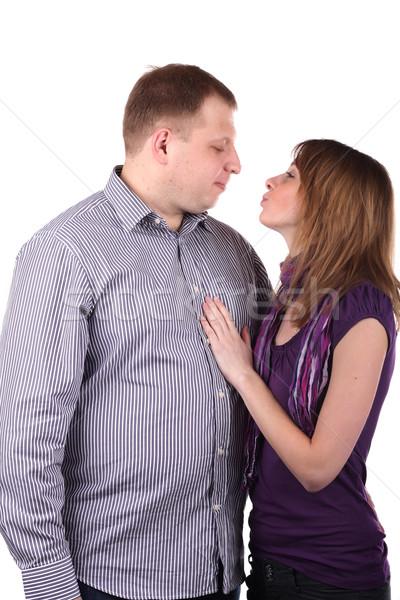 Lovely couple Stock photo © DedMorozz