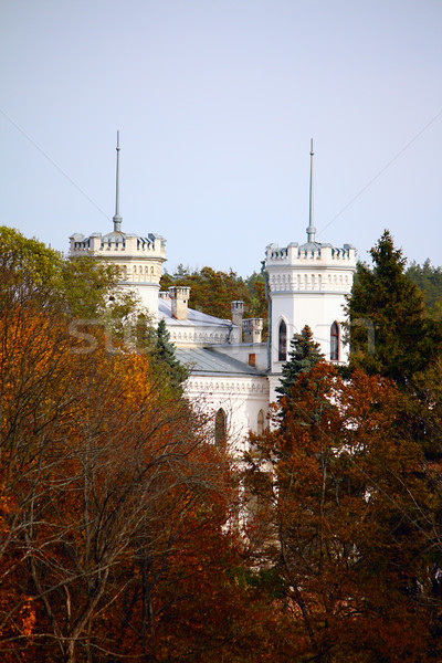 White castle Stock photo © DedMorozz