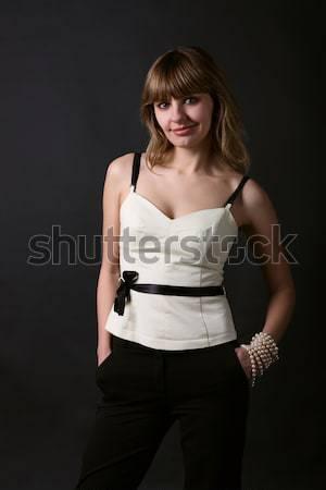 портрет женщину девушки женщины моде Сток-фото © DedMorozz