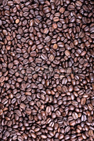 полный кофе многие коричневый кофе Сток-фото © DedMorozz