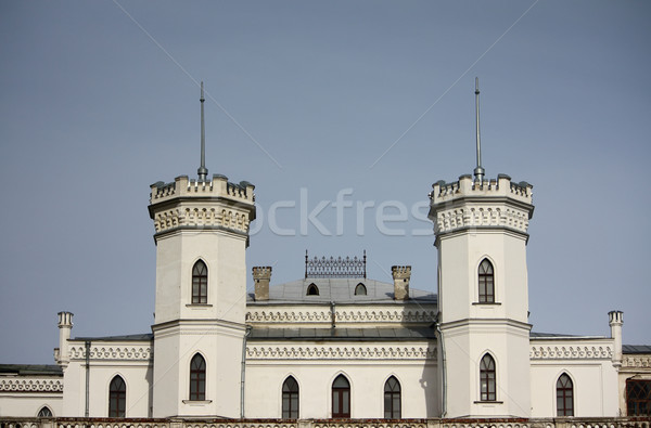 старые замок небе синий башни культура Сток-фото © DedMorozz