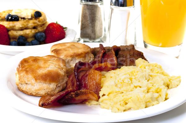 Big Country Breakfast Stock photo © dehooks
