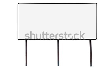 Blank Billboard with Copy Space Stock photo © dehooks