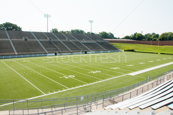 Stock photo: High School Football Stadium