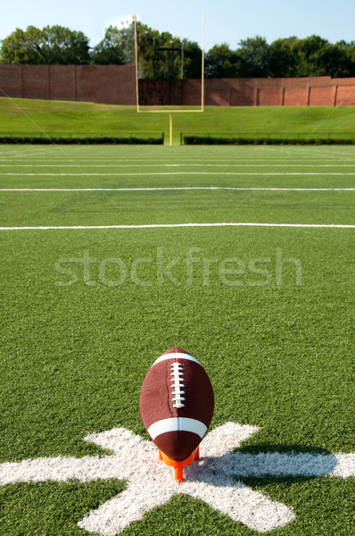 American Football Kickoff Stock photo © dehooks