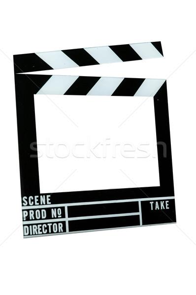 Movie Slate Board Stock photo © dehooks