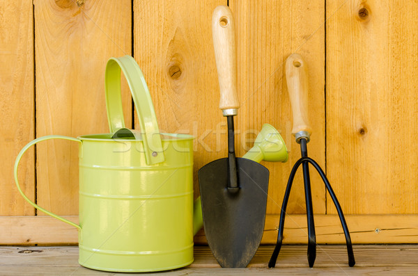 Gardening Tools Stock photo © dehooks