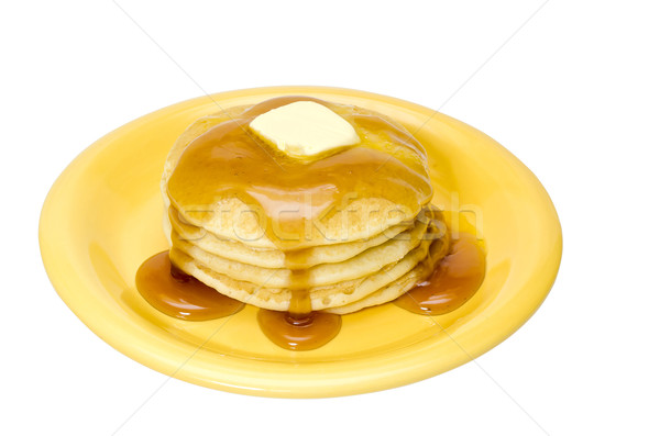 Pancakes Isolated Stock photo © dehooks