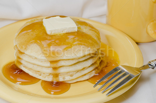 Pancakes and Coffee Stock photo © dehooks