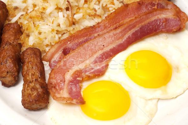 Breakfast Stock photo © dehooks