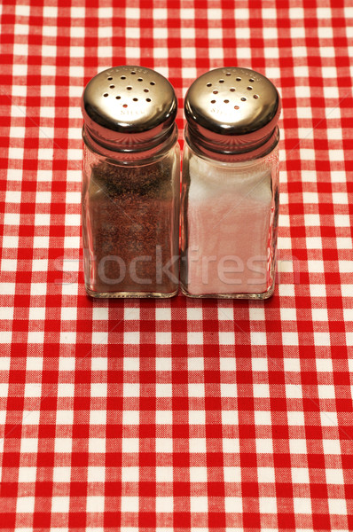 Salt and Pepper Stock photo © dehooks