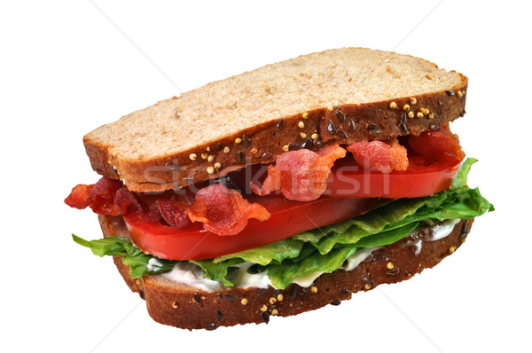 Bacon, Lettuce, and Tomato Sandwich Stock photo © dehooks