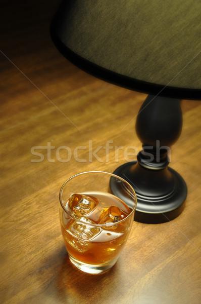 Bourbon on the Rocks Stock photo © dehooks