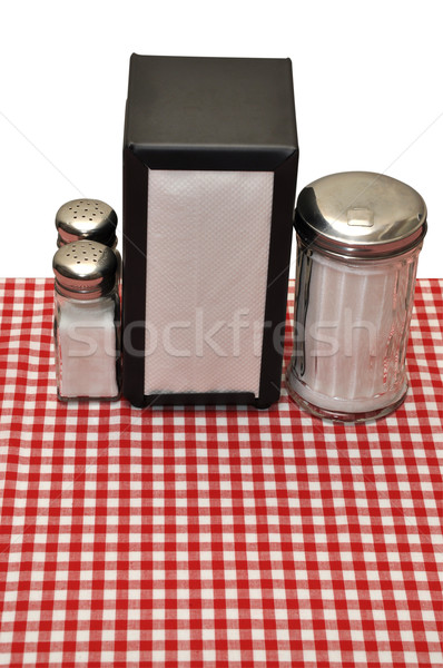 Stock photo: Table at Diner