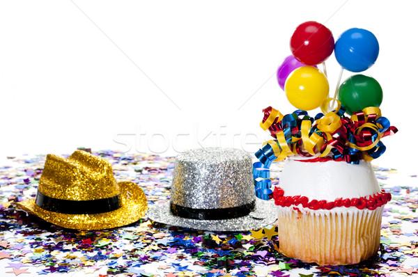 Confeti fiesta decorado vaquero Foto stock © dehooks