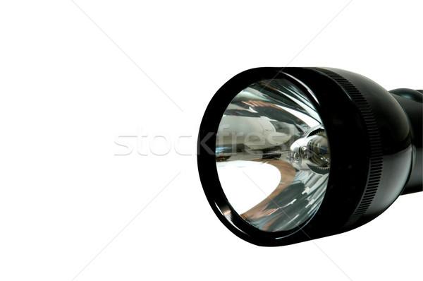 Aluminum Flashlight Stock photo © dehooks