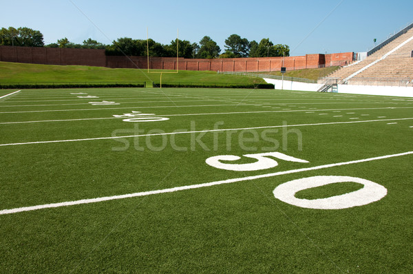 Stock photo: American Football Field