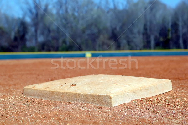 Stock photo: Baseball Base
