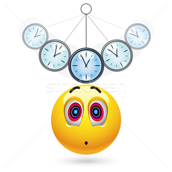 мяча часы науки расслабиться Сток-фото © dejanj01