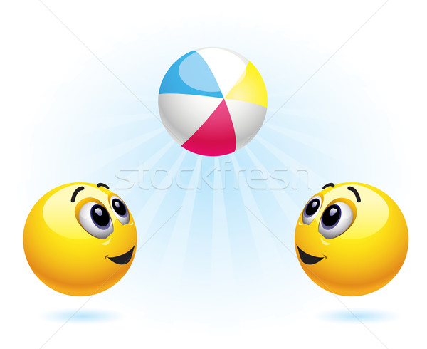 Smileys Stock photo © dejanj01