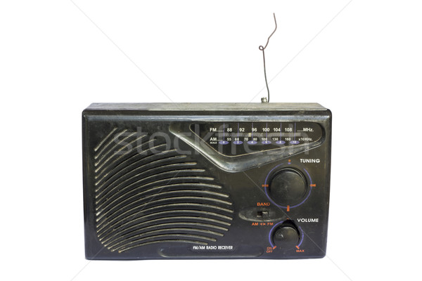 Old transistor radio Stock photo © dekzer007