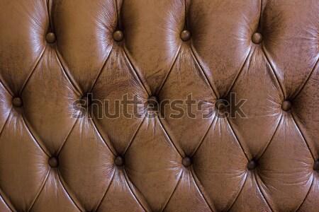 leathers texture of old sofa Stock photo © dekzer007