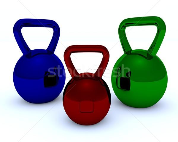 Weight Stock photo © dengess
