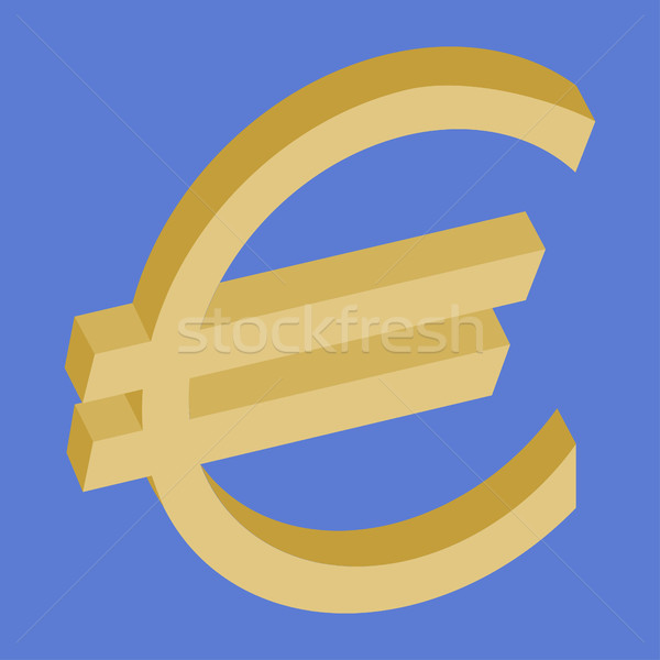 Euro symbol Stock photo © dengess