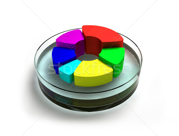 ABSTRACT COLORFUL BUTTON Stock photo © dengess
