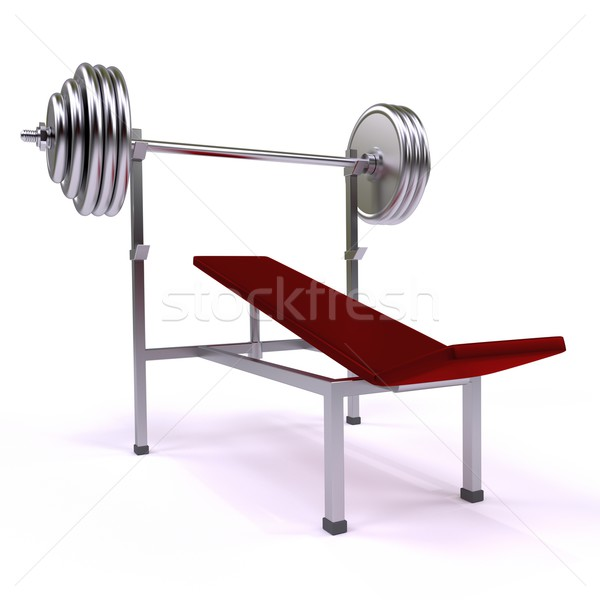 gym apparatus Stock photo © dengess