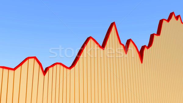 Chart diagram Stock photo © dengess