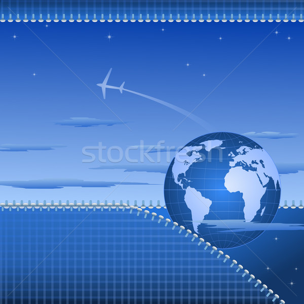 Abstarct globe background Stock photo © dengess