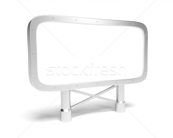 Blank billboard Stock photo © dengess
