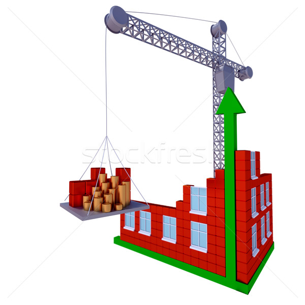 Process of building a business Stock photo © dengess