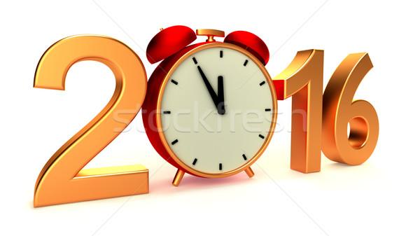 New year 2016 Stock photo © dengess