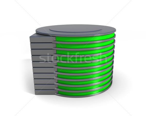 hard disk drive icon Stock photo © dengess