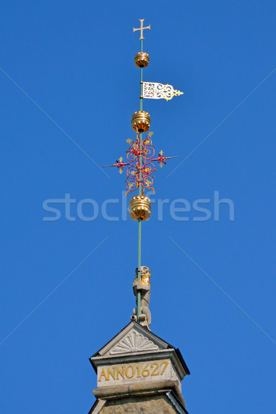 windvane in old Tallinn Stock photo © dengess