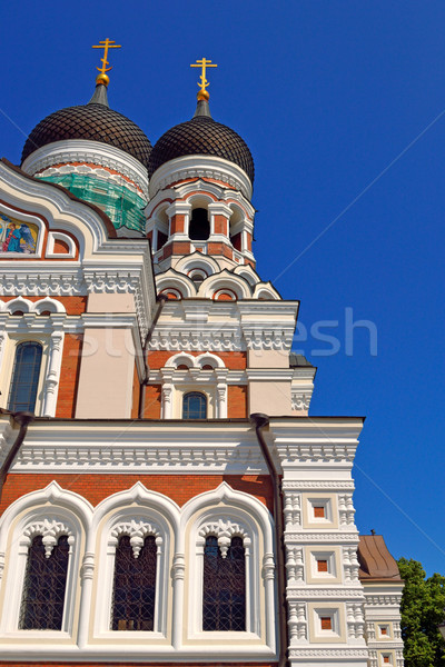 Alexander Nevsky Cathedral Stock photo © dengess
