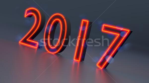 New Year 2017 Stock photo © dengess