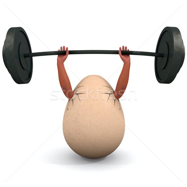 Huevo ilustración salud Pascua Foto stock © dengess