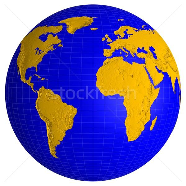 Globe Stock photo © dengess