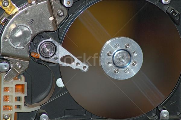 Harde schijf business internet technologie achtergrond digitale Stockfoto © dengess