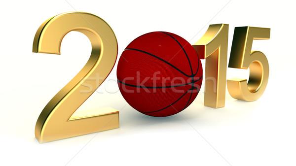 Basketball 2015 year Stock photo © dengess