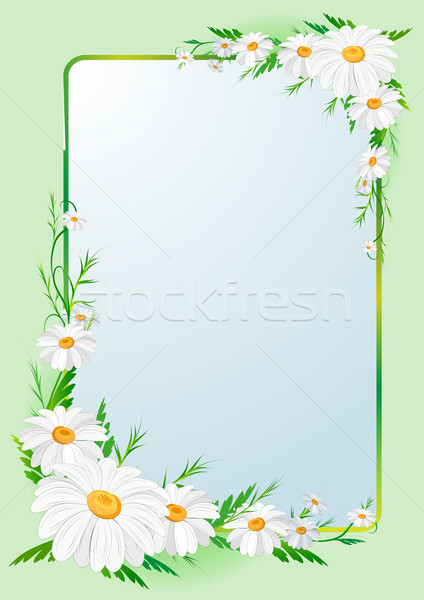 Foto stock: Floral · frontera · hoja · fondo · web · tarjeta