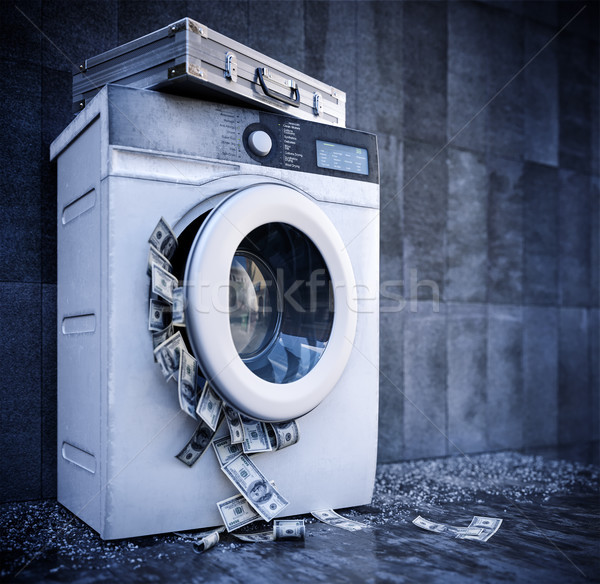 laundering of money business background concept closeup Stock photo © denisgo
