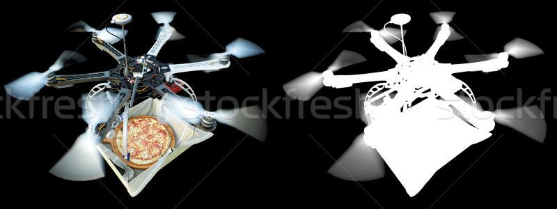 Rápido entrega novo tecnologia foto alfa Foto stock © denisgo