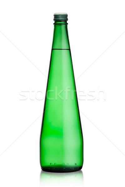 Foto d'archivio: Bottiglia · sani · frizzante · acqua · limonata · bere