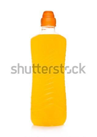 üveg sport energiaital fehér tükröződés citromsárga Stock fotó © DenisMArt